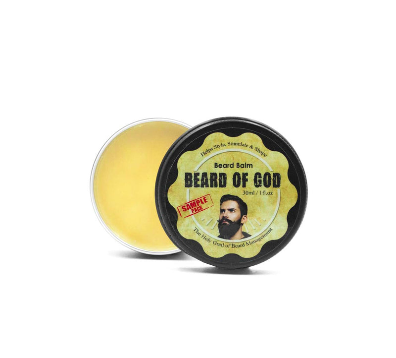 1oz Hand-Poured Beard Balm - Beard of God