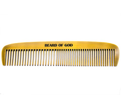 Weighted Barber-Grade Comb - beardofgod