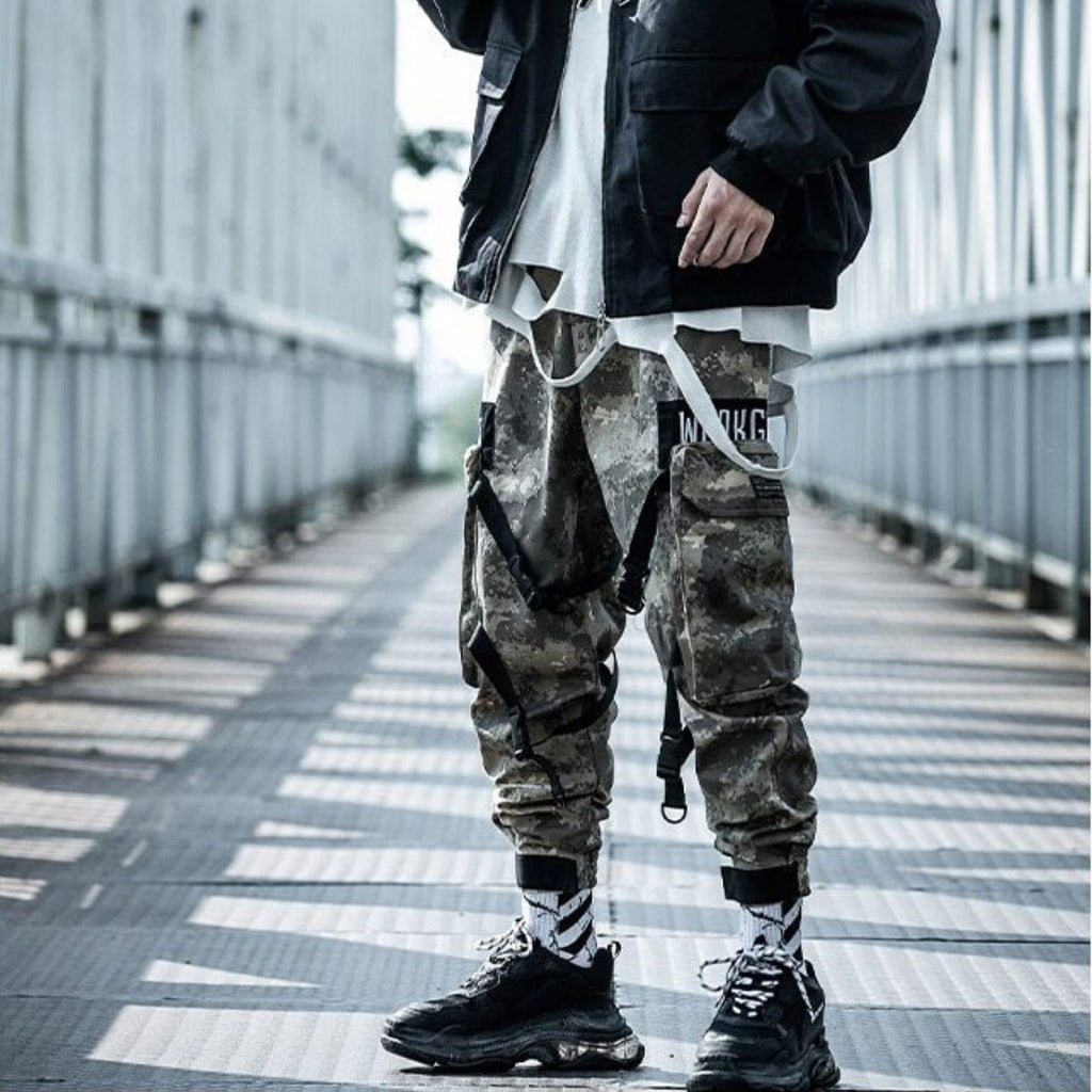 Pluviophile Baggy Joggers