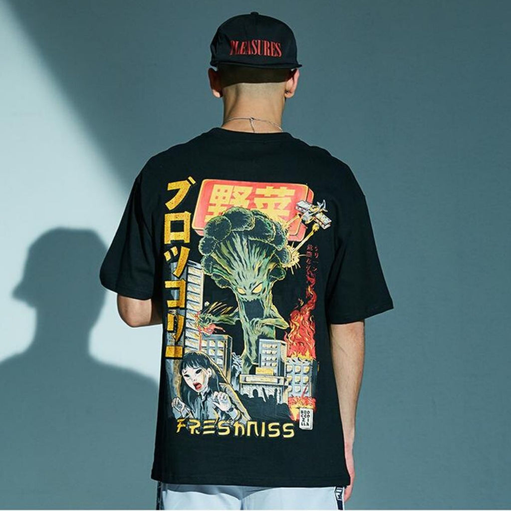 Cartoon Monster T-Shirt