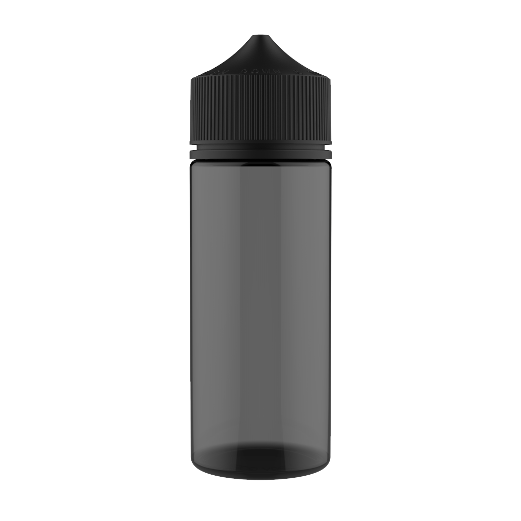 Chubby Gorilla Empty Eliquid Bottle 120ml Black