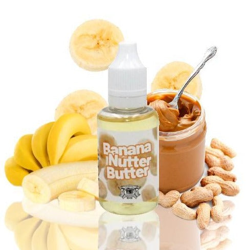 Banana Nutter Butter by Chef's Flavour available at Heavy Clouds, Athens Greece!