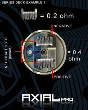Load image into Gallery viewer, axial pro rda mass mods twisted messes