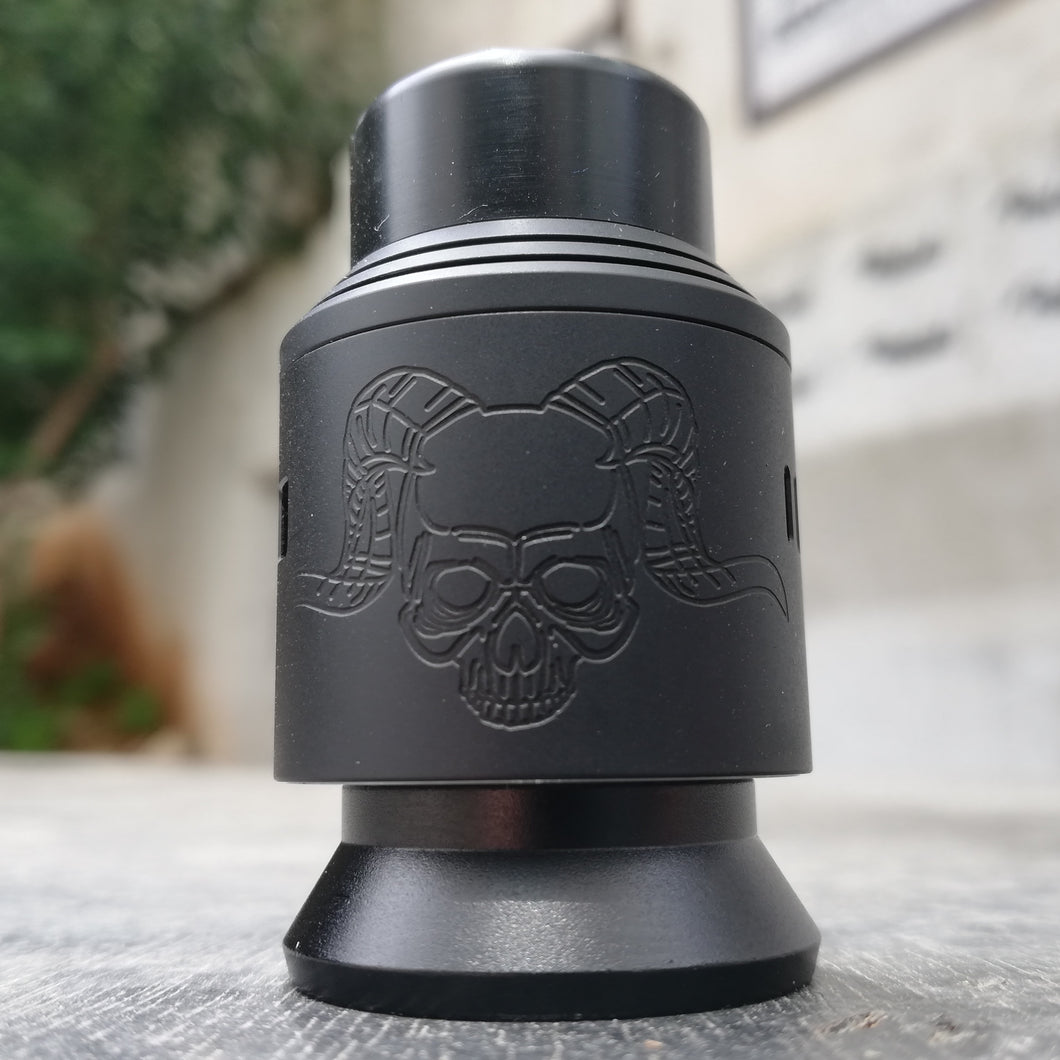 Full Black Elite v2 rda by armageddon mfg