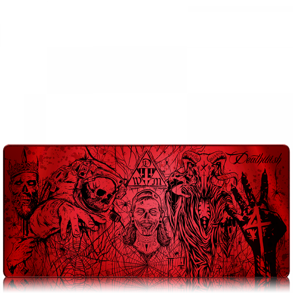 deathwish modz red vape mat build mat bogan