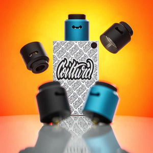 An RDA for vaping cloud caps coilturd