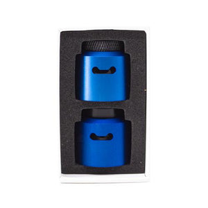 Blue An RDA for vaping cloud caps coilturd