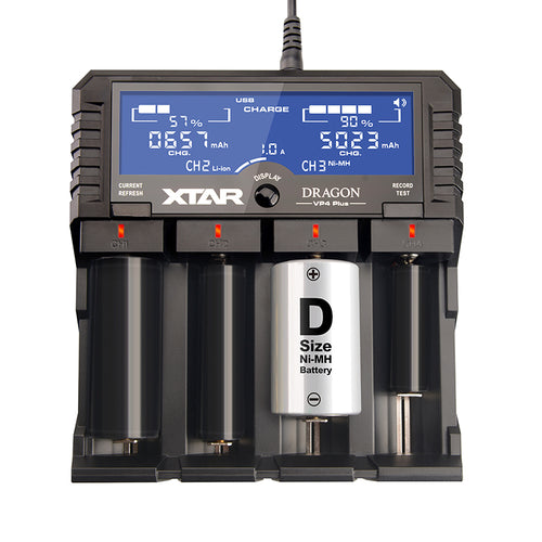 Xtar Dragon VP4 Plus Charger