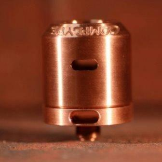 Mini Cap 24 Copper Smooth Side Airflow (Fits Kennedy 24)