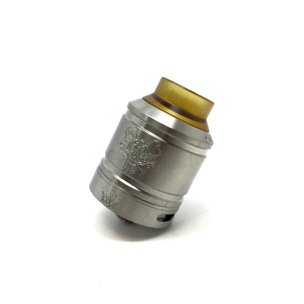 The Sherman 25 RDA Stainless Steel