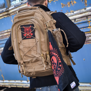 Comp Lyfe Tactical Backpack Tan