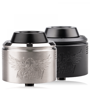 Niflheim Valhalla v2 rda 40mm both versions heavy clouds athens greece vape