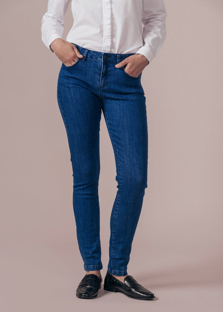 JEAN DENIM PAPILLON