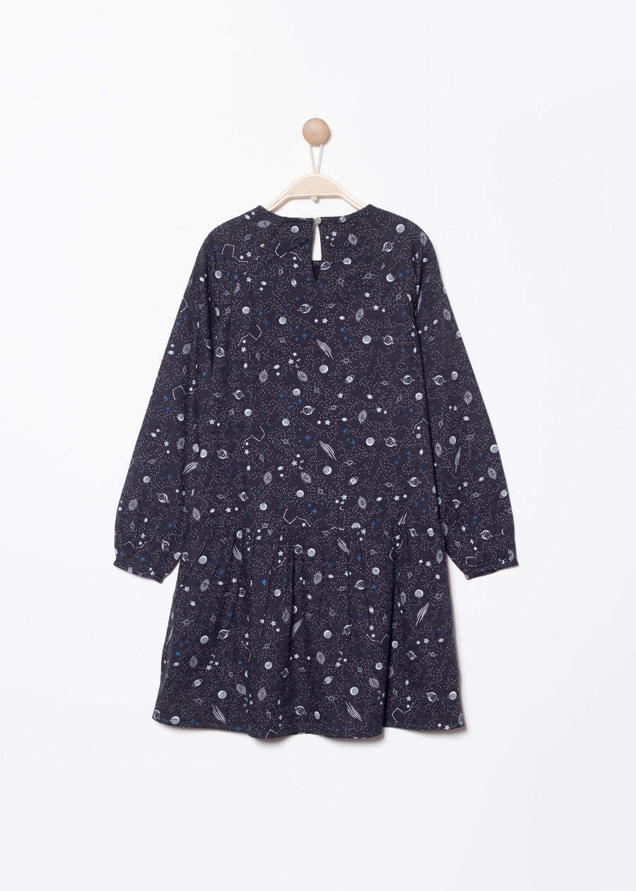 ROBE NOIR RALAXY | Karl Marc John