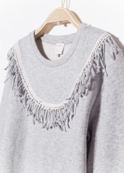 SWEAT GRIS CLAIR SCOTY