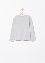 SWEAT GRIS CLAIR SCOTY | Karl Marc John