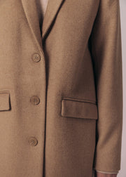 MANTEAU SABLE LORELA