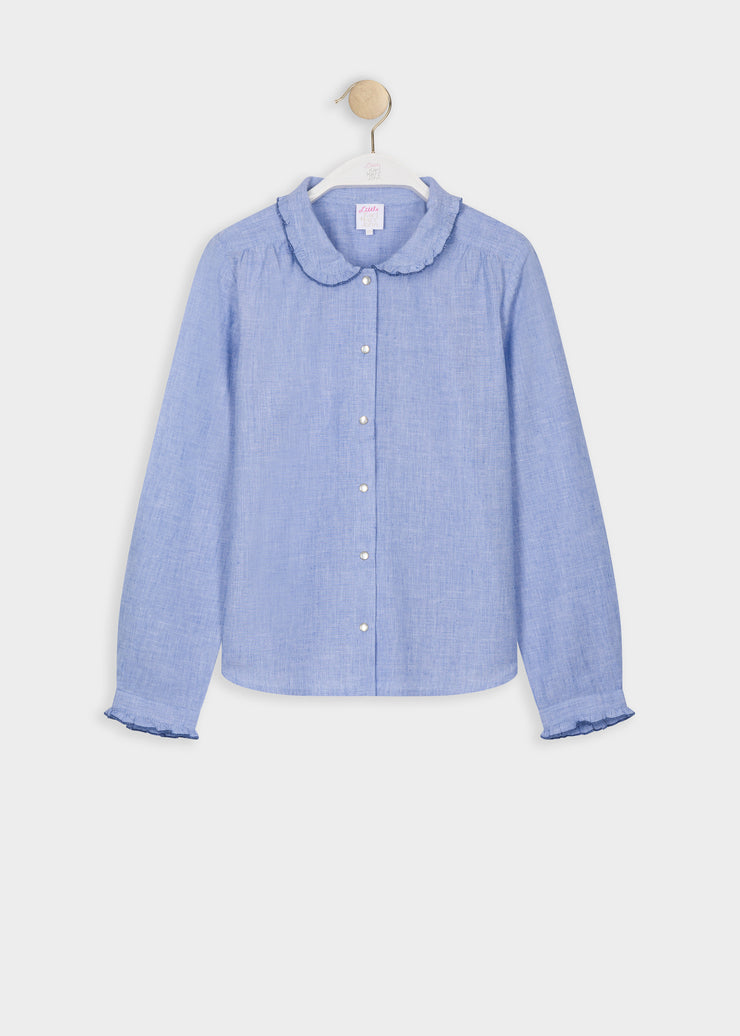 BLOUSE-TUNIQUE DENIM CELAVY