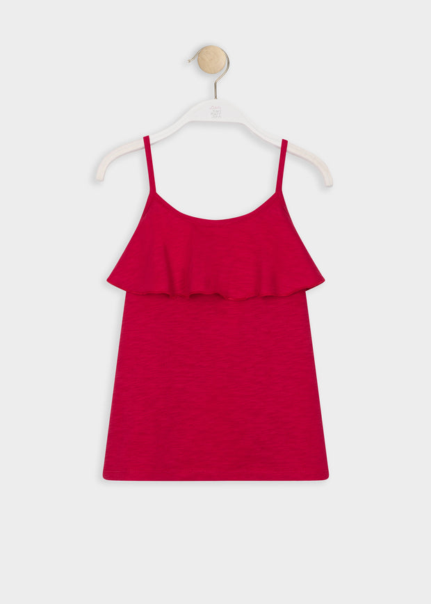 TEE-SHIRT ROUGE ATOLY