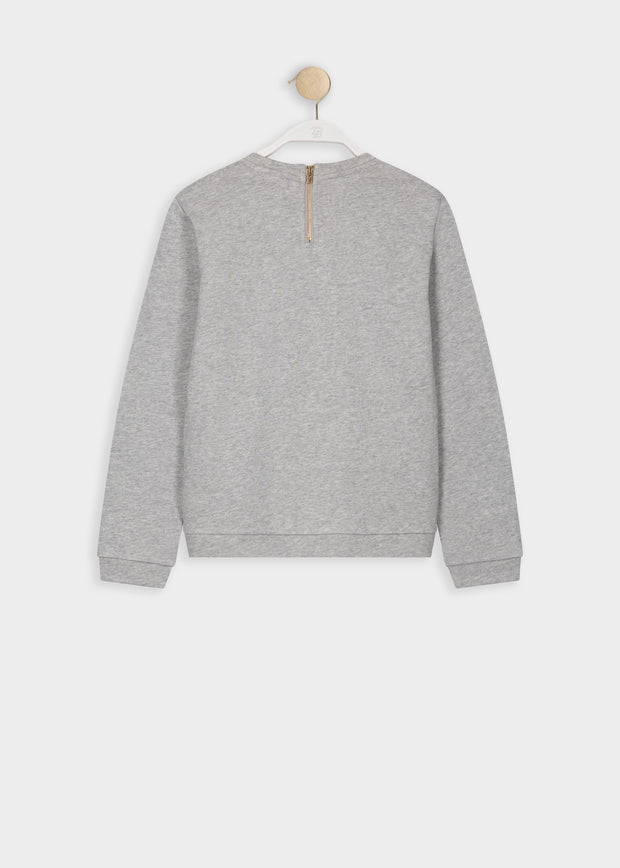SWEAT GRIS STERNY