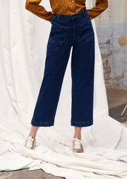 PANTALON DENIM PALMIER