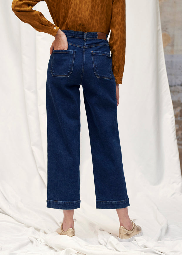 PANTALON DENIM PALMIER | Karl Marc John