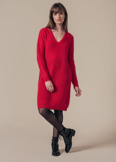 ROBE ROUGE RIVOLIEN
