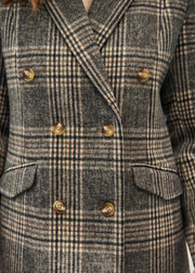 MANTEAU CARREAUX LEONARD | Karl Marc John