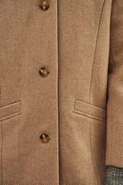 MANTEAU SABLE LORENZO | Karl Marc John