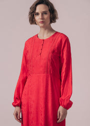 ROBE ROUGE RIOTTE