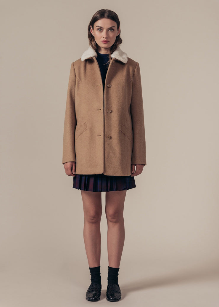 MANTEAU SABLE LOYAL