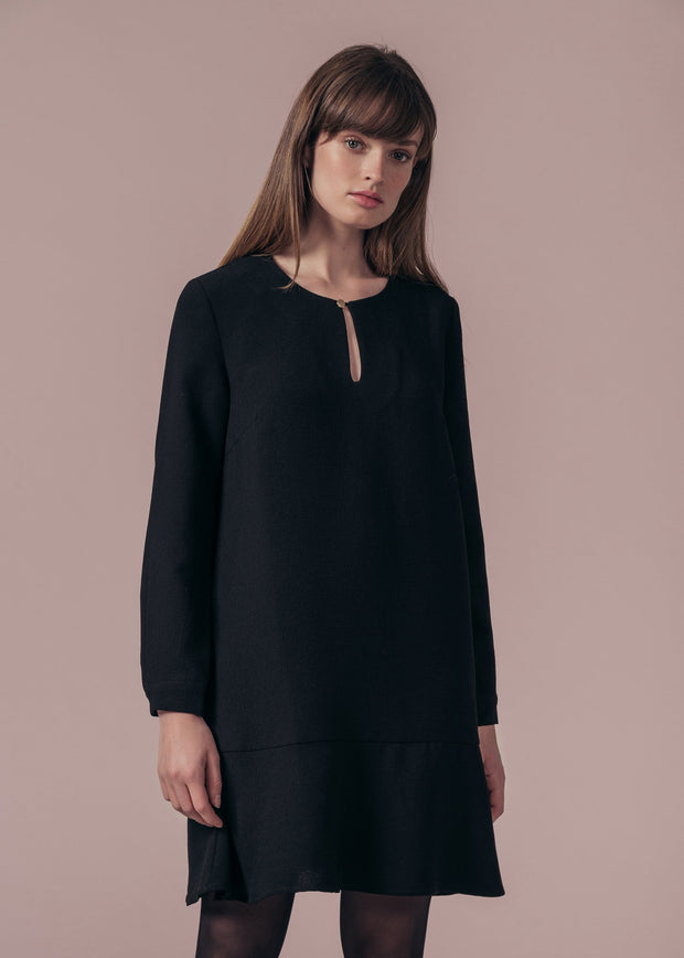 ROBE NOIR RIGINETTE