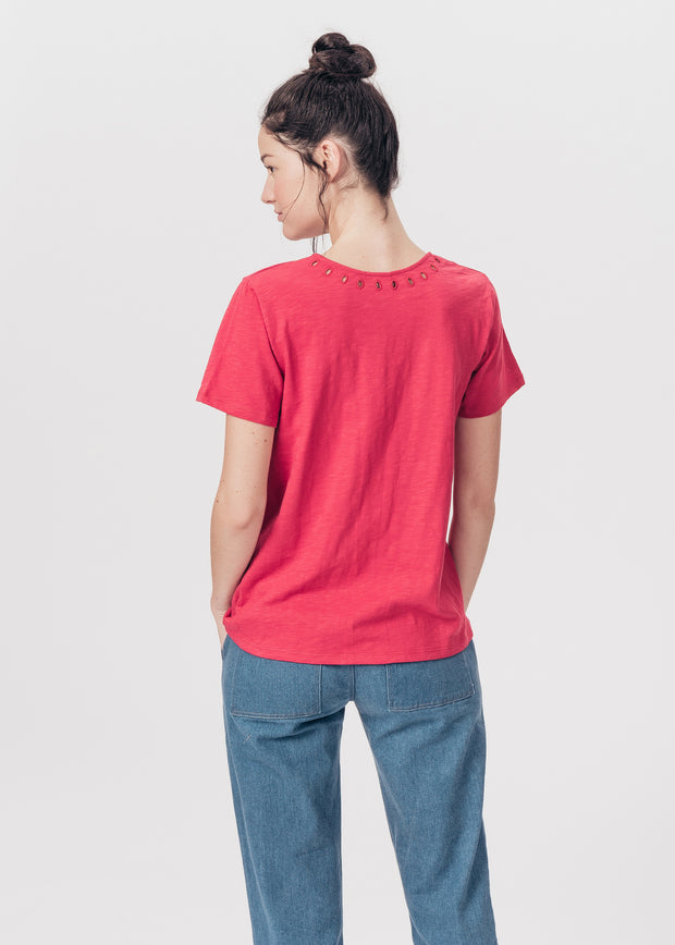 TEE-SHIRT ROUGE ASIA
