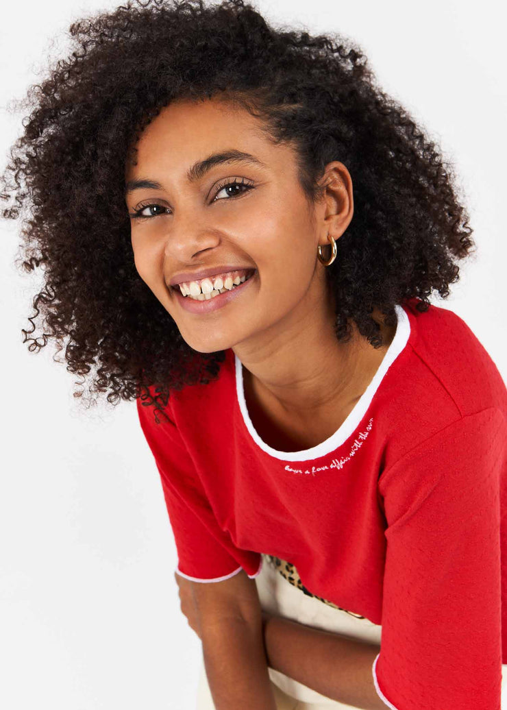 TEE-SHIRT ROUGE AUSTRAL