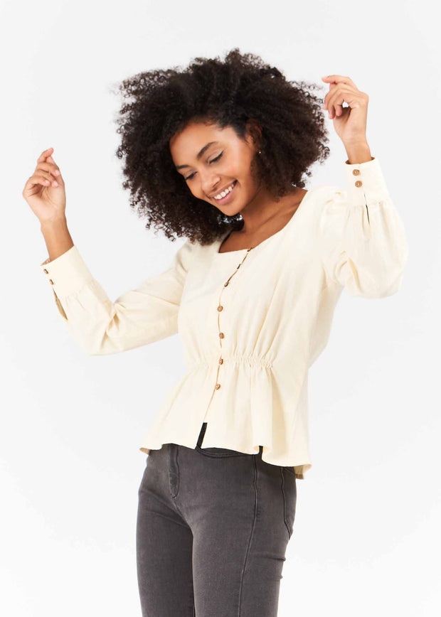 BLOUSE-TUNIQUE VANILLE FRANCISCO