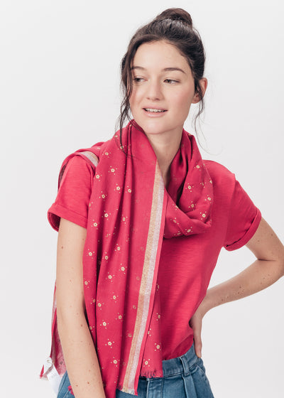 ECHARPE / FOULARD ROUGE HOWER