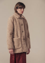 MANTEAU SABLE LUCILE