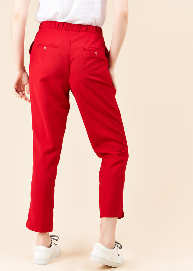 PANTALON ROUGE PLAISANCE