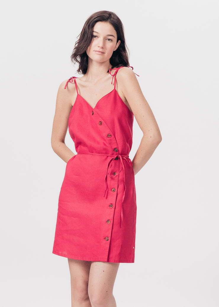 ROBE ROUGE RAMILIA