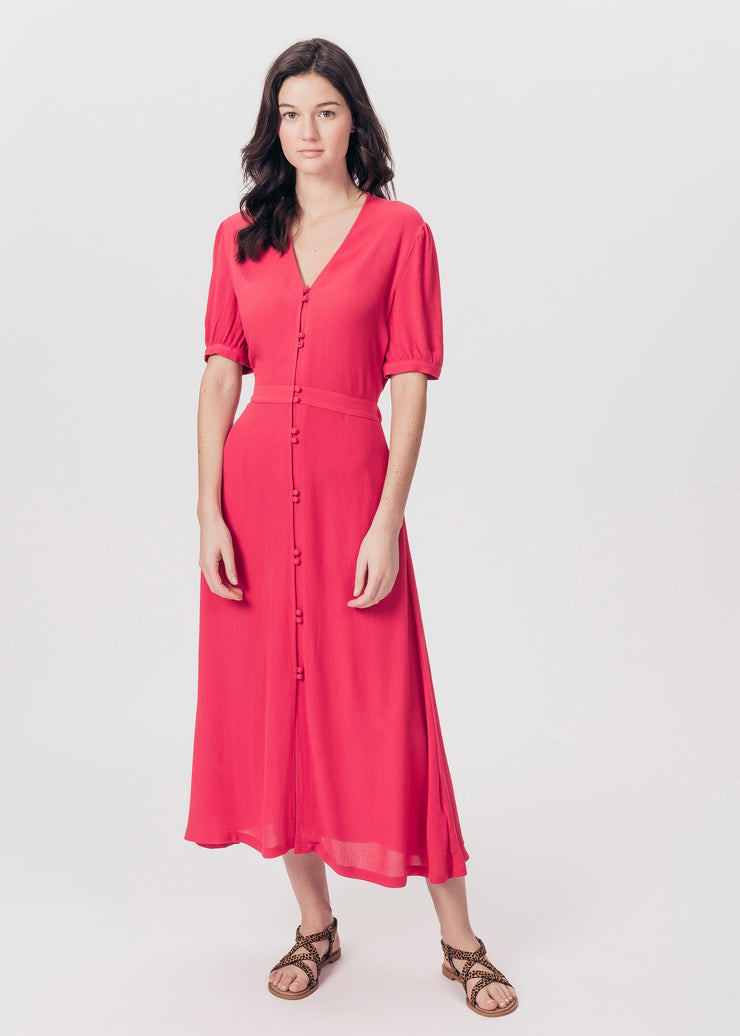 ROBE ROUGE RAVANEL