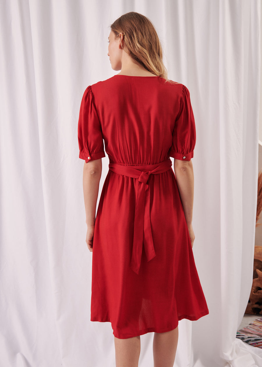 ROBE ROUGE REVANCHE