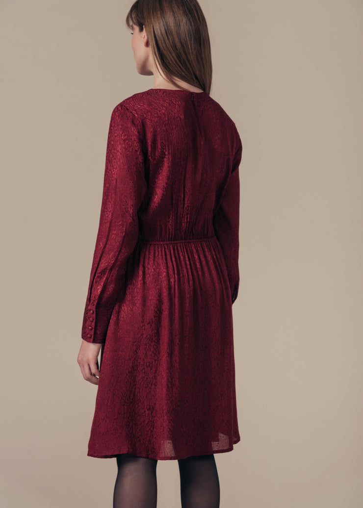 ROBE BORDEAUX ROBINE