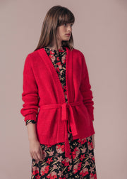 GILET ROUGE MAUBERT
