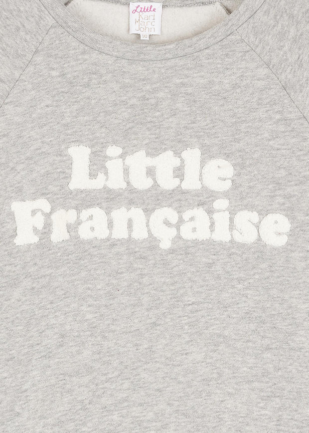 SWEAT GRIS FRANCAISE SITY