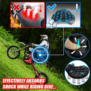 MotoBike Motorcycle Pressure Relief Seat Cushion