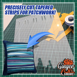 Tapered Guideline Quilt Ruler