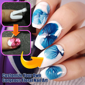 TrendyChic! Dried Flower Petal Nail Art