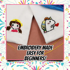 EZTransfer Embroidery Tracing Set