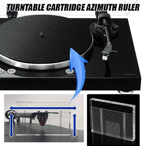 Beat+ Turntable Cartridge Azimuth Ruler