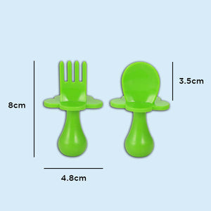 LilGrasp Self-Feeding Baby Utensils